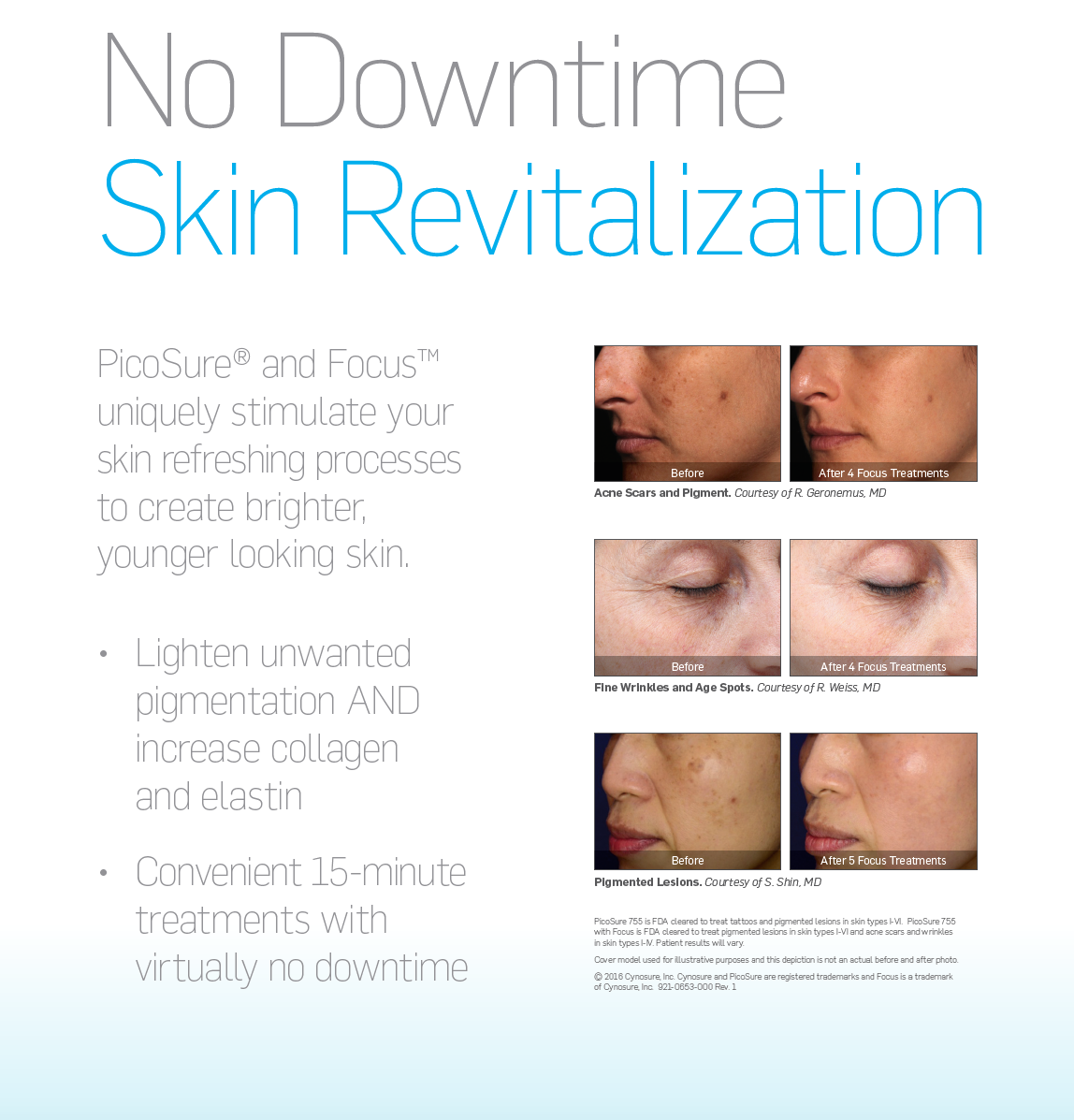 PicoSure Focus Skin Mansfield Cosmetic Surgery Center