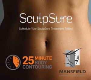 sculpsure non-invasive fat reduction mansfield cosmetic surgery center